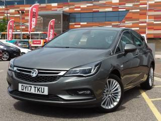 Vauxhall Astra 1.4 16V 150PS ELITE NAV 5DR 5 DOOR HATCHBACK, 9041 miles, £11995