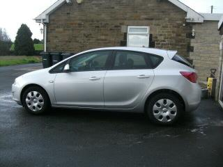VAUXHALL ASTRA 1.4 16V DAMAGE REPAIRED 2011 REG REDUCED
