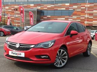 Vauxhall Astra 1.4 16V TURBO 150PS GRIFFIN 5DR, 25 miles, £14995