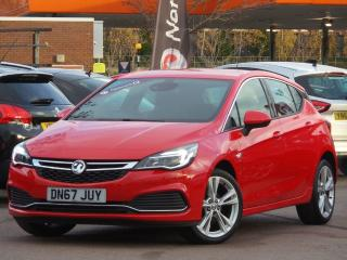 Vauxhall Astra 1.4 16V TURBO 150PS SRI VX LINE 5DR 5 DOOR HATCHBACK, 10907 miles, £9995