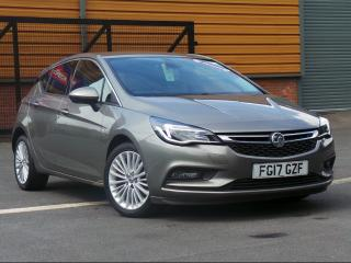 Vauxhall Astra 1.6 CDTI 16V 136PS ELITE NAV 5 DOOR HATCHBACK, 42154 miles, £9895