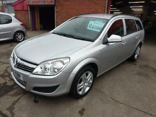 VAUXHALL ASTRA 1.6 ESTATE FSH CAMBELT DONE 1 LADY OWNER SINCE 2010 97K 10 REG