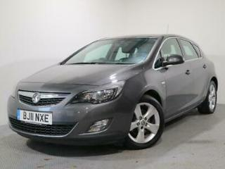 VAUXHALL ASTRA 1.7 CDTI ECOFLEX 16V SRI 5DR 2011 Diesel Manual in Grey