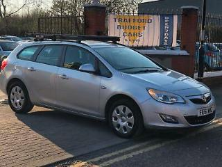 Vauxhall Astra 1.7CDTi ecoFLEX 2012 Exclusive. £30 tax cheap runner