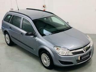 VAUXHALL ASTRA 1.8 LIFE A/C 5DR AUTOMATIC PETROL ESTATE GREY