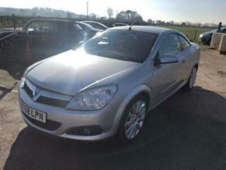 VAUXHALL ASTRA 1.8 TWIN TOP DESIGN CABRIOLET CONVERTIBLE 69K MILES, HPI CLEAR