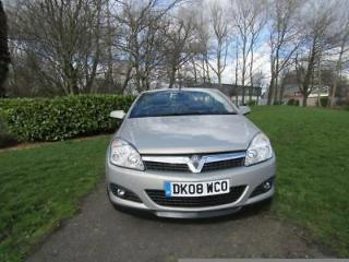 Vauxhall Astra 1.8I 16V VVT TWIN TOP DESIGN, Leather Seats, HardTop Convertible