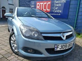 Vauxhall Astra 1.9 CDTi Sport Twin Top 2dr*SERVICE HISTORY*TIMING BELT CHANGED