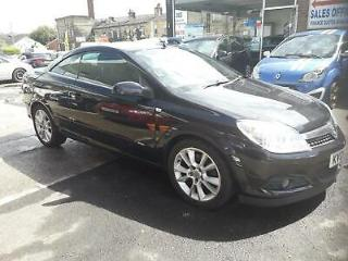 Vauxhall Astra 1.9CDTi 16v 150ps Coupe CONVERTIBLE Twin Top Design 2008 08 REG