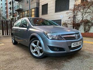 Vauxhall Astra 1.9CDTi 2008 SRi 6 SPEED LONG MOT, FULL HISTORY