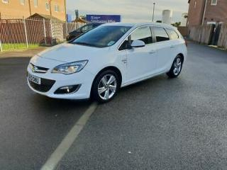 Vauxhall Astra 2013 NAVIGATION Low milage