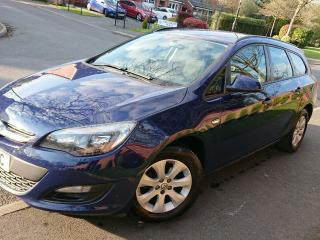 Vauxhall Astra 2014 DESIGN ESTATE 1.3 CDTi/ START STOP / 1 owner from NEW / FSH