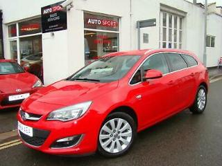 VAUXHALL ASTRA 2.0 CDTI ESTATE AUTOMATIC, 2014 WITH 39000 MILES