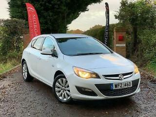 VAUXHALL ASTRA CDTi 110 ecoFLEX Start Stop Tech Line White Manual Diesel 2015