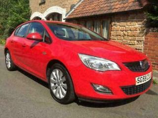 VAUXHALL ASTRA EXCLUSIVE LOW MILEAGE FULL MOT FULL SERVICE HISTORY