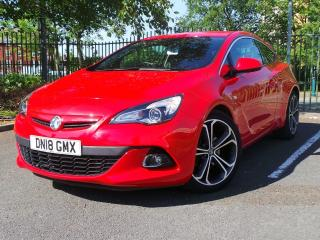 Vauxhall Astra GTC 1.4 16V 140PS LIMITED EDITION 3DR NAV INC LEATHER 3 DOOR HATCHBACK, 17468 miles, £13995