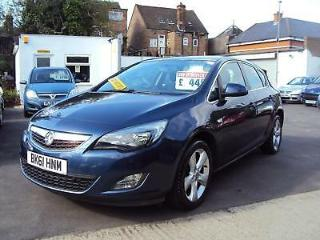 Vauxhall Astra SRI – LOW Miles with Service History & Long MOT £4,499