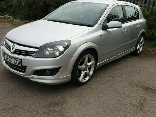 Vauxhall astra SRI Xpack 150 1.9cdti 11mths MOT 9 Service Stamps excel con