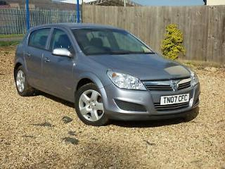 VAUXHALL ASTRA VVT Energy Silver Manual Petrol, 2007 LOW MILEAGE