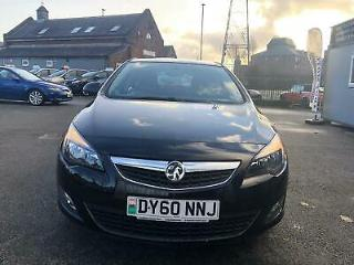 VAUXHALL ASTRA VVT SRi Black Manual Petrol, 2010