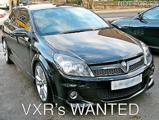 Vauxhall Astra VXR 2.0t 16v 240ps 2006 WANTED VXRS / TOP PRICES PAID /