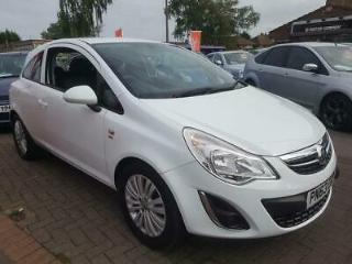 VAUXHALL CORSA 1.2 I ENERGY 3DR 2013 Petrol Manual in White