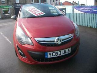 Vauxhall Corsa 1.2i 16v 85ps LE ONE OWNER 17 BLACK ALLOYS 5 SERVICE STAMPS