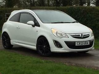 Vauxhall Corsa 1.2i 16v 85ps Limited Edition a/c 2012 White