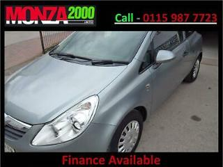 VAUXHALL CORSA 1.2i S 16v NIL DEPOSIT FINANCE AVAILABLE WARRANTY SAT NAV DVD