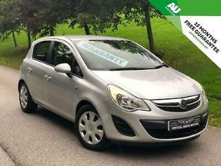 VAUXHALL CORSA 1.4i 16v 100ps 2011.5MY Exclusive AC+6 MONTH WARRANTY