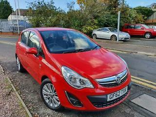Vauxhall Corsa 1.4i 16v 100ps a/c auto 2013MY SE CHEAP TO INSURE AND TAX