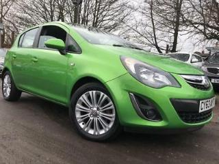 Vauxhall Corsa 2014 1.4 i 16v SE 5dr a/c AUTO, 1 OWNER, HEATED STEERING/SEATS