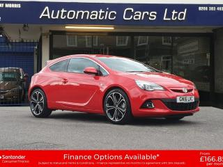 Vauxhall GTC 1.4T 16V 140 Limited Edition 3dr Auto Coupe 2016, 11000 miles, £12495