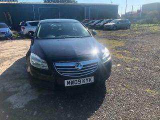 Vauxhall Insignia 1.8 petrol Exclusive Black SH mot 1owner drive excellent