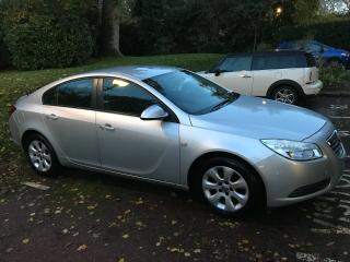 Vauxhall Insignia 1.8 VVT Exclusive, 2 keys, timing belt, full service