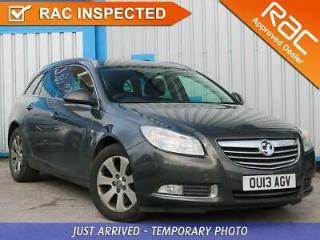 Vauxhall Insignia 2.0 Sri Cdti 2013 13 • from £29.51 pw