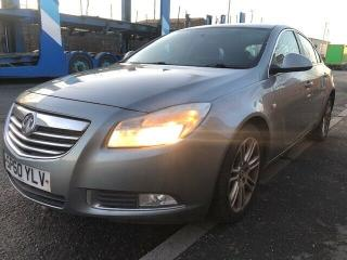 VAUXHALL INSIGNIA EXCLUSIVE160 2.0CDTI SILVER EX POLICE 2011
