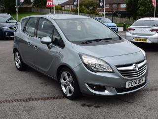 Vauxhall Meriva 1.4 16V TECH LINE 5DR MPV MULTI PURPOSE VEHICLE, 26000 miles, £5749