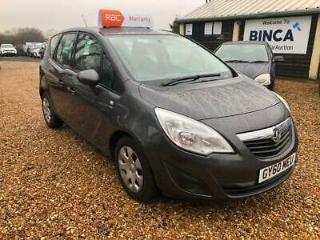 VAUXHALL MERIVA 1.4 I 16V S 5DR 2010 Petrol Manual in Grey