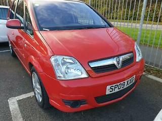 Vauxhall Meriva 1.4i LOW MILES RED WARRANTY 12 MONTHS MOT 2 OWNERS