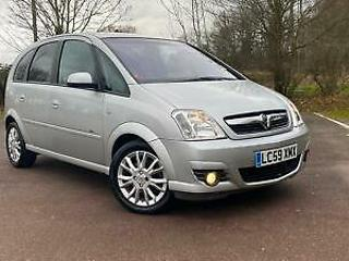 Vauxhall Meriva 1.6i 16v a/c Easytronic 2009 on 59 reg Active Plus