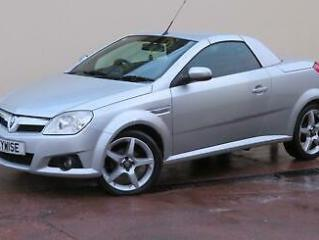 VAUXHALL TIGRA 1.4i 16V EXCLUSIV 2009 09 WITH ONLY 58,769 MILES