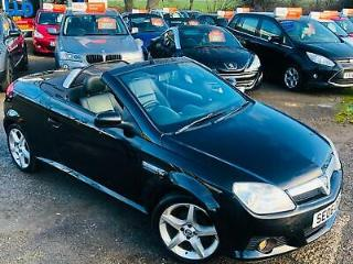 Vauxhall Tigra 1.4i 2006 Exclusiv Heated Leather Aircon Convertible Cabriolet px