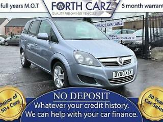 VAUXHALL ZAFIRA 115 Exclusiv 2010 Petrol Manual in Silver