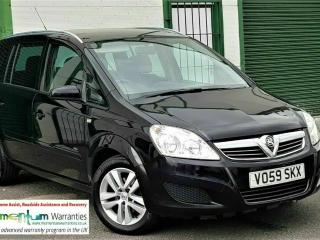 VAUXHALL ZAFIRA 1.6 ACTIVE 93K FSH 59 REG 7 SEATER 1 x OWNER FROM NEW! LONG MOT!