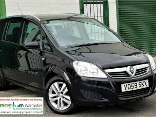 VAUXHALL ZAFIRA 1.6 ACTIVE 93K FSH 59 REG 7 SEATER 1 x OWNER FROM NEW! NEW MOT!