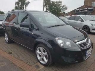 VAUXHALL ZAFIRA 1.6 I VVT 16V EXCLUSIV 5DR 2013 Petrol Manual in Black