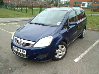vauxhall zafira 1.6, low mileage, very clean, 12 months mot. New clutch