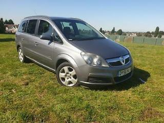 Vauxhall Zafira 1.6 petrol 2006 7 seater car 5 door manual 10 months mot 90kmile