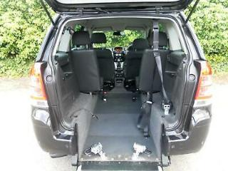 Vauxhall Zafira 1.7 CDTi Design WAV Wheelchair Accessible Vehicle Disability Car